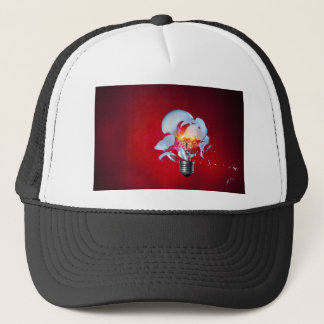 Exploding Lightbulb Trucker Hat
