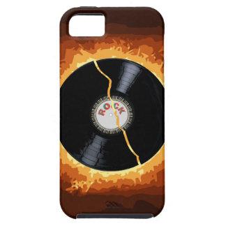 Exploding Record Tough iPhone 5 Case