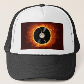 Exploding Record Trucker Hat