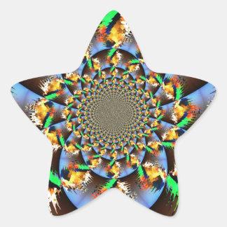 Exploding Star Sticker