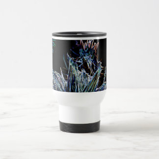 Exploding Thistle Travel Mug