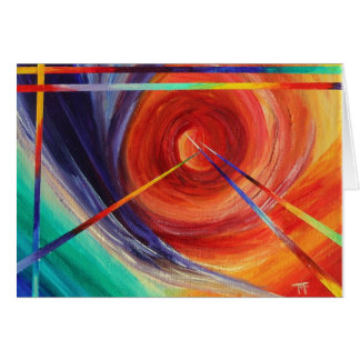 Exploration - Abstract Greeting Card
