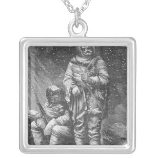 Exploration costumes silver plated necklace