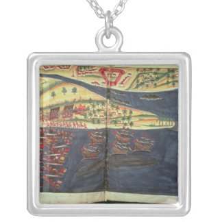 Exploration map of Surat Silver Plated Necklace