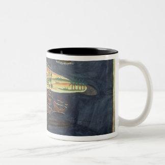 Exploration map of Surat Two-Tone Coffee Mug