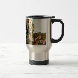 Explore - A Guardian Angel Watches Travel Mug