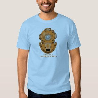 Explore Another World (Deep Diving Helmet) Tee Shirt