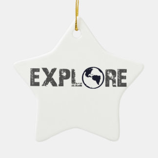 Explore Christmas Ornament