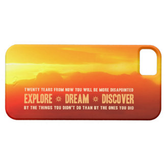 Explore. Dream. Discover. iPhone 5 Covers