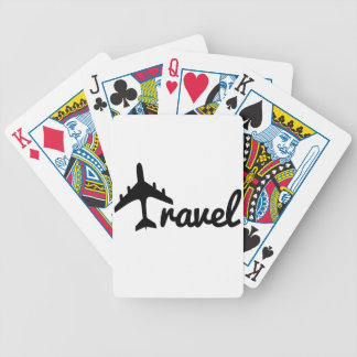 Explore Dream Discover - Travel Bicycle Playing Cards
