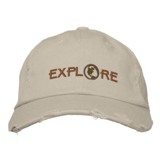 Explore Embroidered Hat