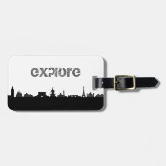 Explore Luggage Tag