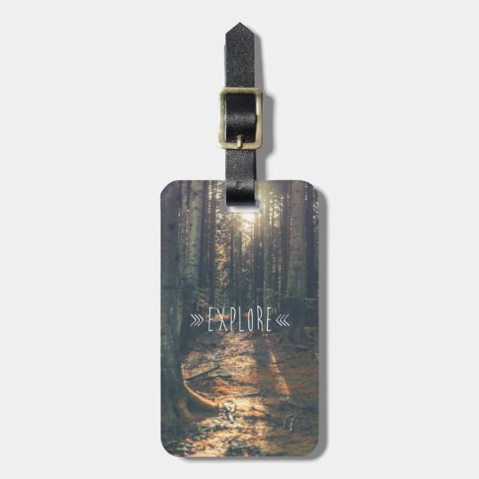EXPLORE LUGGAGE TAG