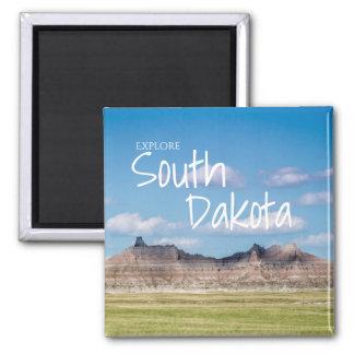 Explore South Dakota Magnet