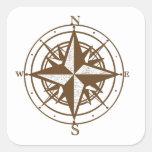 Explore Square Sticker