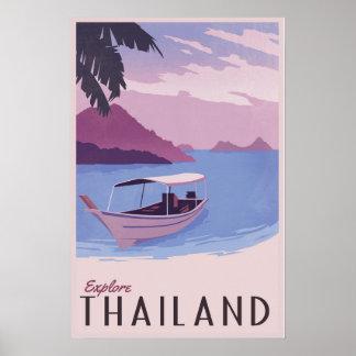 Explore Thailand Poster