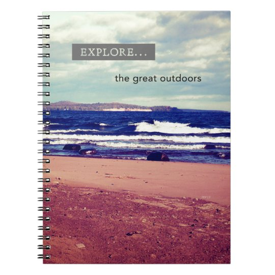 Explore The Great Outdoors Notebooks