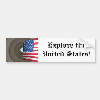 Explore the United States! Bumper Sticker