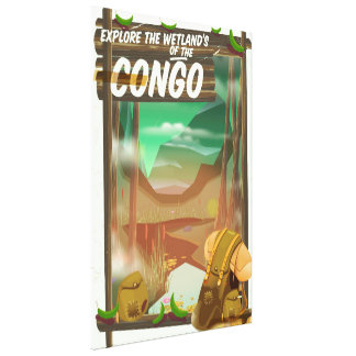 Explore the Wetlands of the Congo Canvas Print