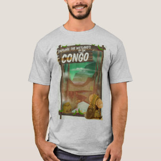Explore the Wetlands of the Congo T-Shirt