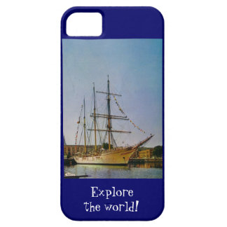 Explore the world iPhone 5 case