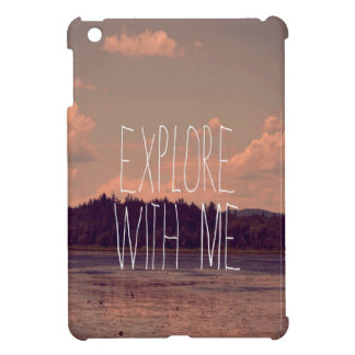 Explore with Me Mini iPad Case