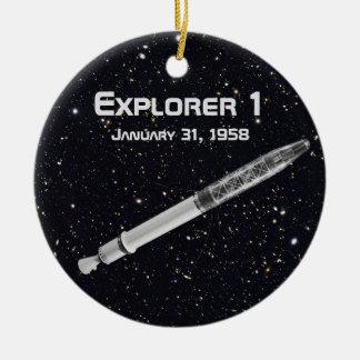 Explorer 1 Satellite Christmas Ornament