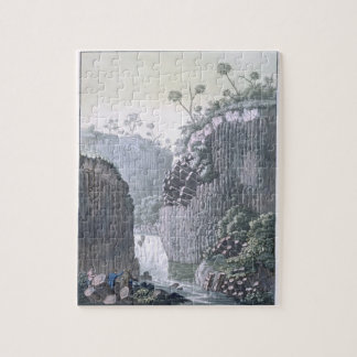 Explorers with Humboldt's Expedition in the Basalt Jigsaw Puzzle