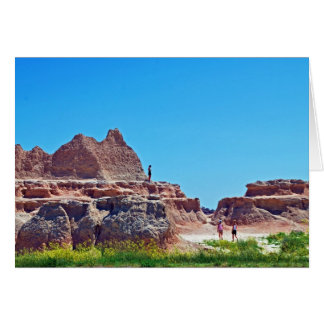"""Exploring the Badlands"" collection Card"