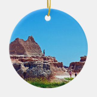 """Exploring the Badlands"" collection Christmas Ornament"