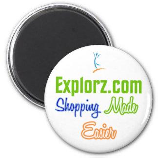 Explorz.com Refrigerator Magnet