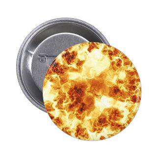 Explosion 6 Cm Round Badge