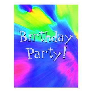 Explosion Birthday Party III 21.5 Cm X 28 Cm Flyer