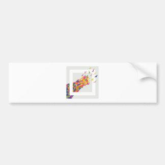 Explosion Bumper Sticker