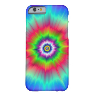 Explosion in Blue Red Green and Violet Barely There iPhone 6 Case