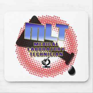 EXPLOSION MLT Medical Laboratory Technologist Mouse Pad