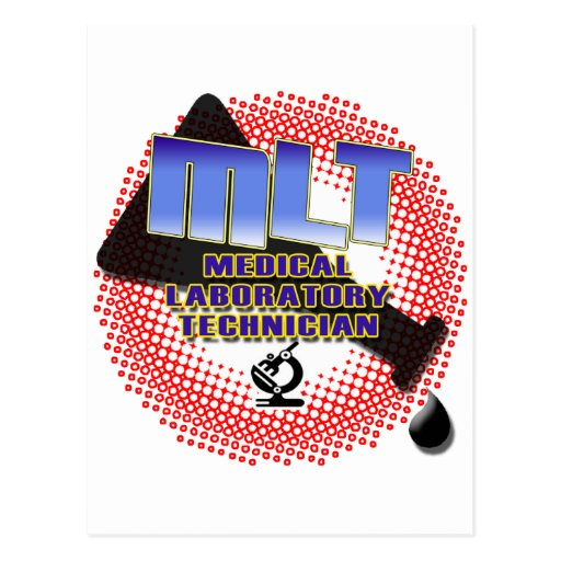 EXPLOSION MLT Medical Laboratory Technologist Postcards
