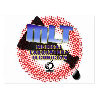 EXPLOSION MLT Medical Laboratory Technologist Postcard