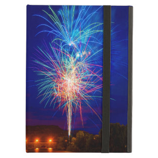 Explosion of colors in fireworks iPad air covers