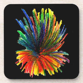 Explosion of colours Coaster