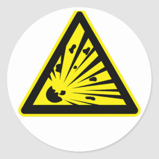 Explosion Risk Stickers