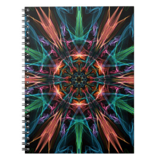 Explosive Center Spiral Notebook
