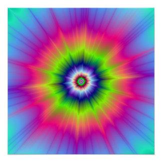 Explosive Colors The Zazzle Perfect Poster