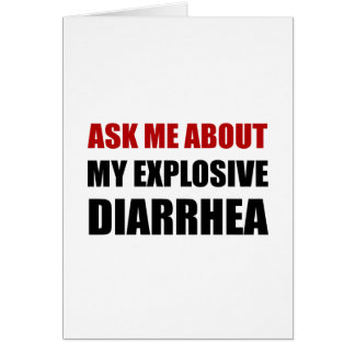 Explosive Diarrhea Card