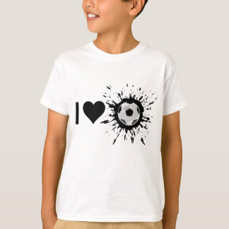 Explosive I Love Soccer T-Shirt