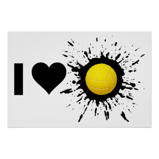 Explosive I Love Volleyball 2 Poster