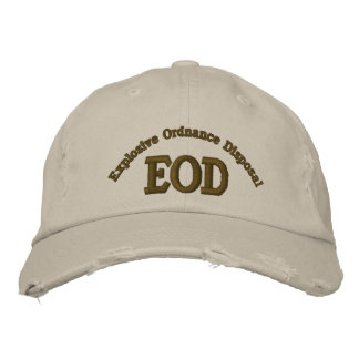 Explosive Ordnance Disposal, EOD Embroidered Hat