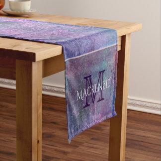 Explosive Table | Name Purple Pink Green Blue | Short Table Runner