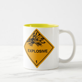 Explosive Two-Tone Coffee Mug