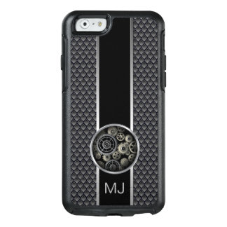 Exposed Gears Industrial Mesh with Monogram OtterBox iPhone 6/6s Case